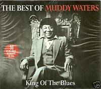 THE BEST OF MUDDY WATERS 2 CD BOX SET KING OF THE BLUES