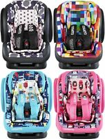 Cosatto HUG GROUP 123 CAR SEAT Front Facing ISOFIX 5-Point Recline/Harness BN
