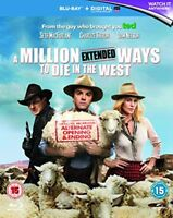 A Million Ways to Die in the West [Blu-ray] [Region Free] -  CD GCVG The Fast