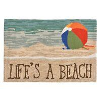 Liora Manne Lifes a Beach Sand Indoor/Outdoor Rug