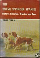 WELSH SPRINGER SPANIEL DOG BOOK PFERD HISTORY CARE