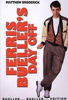 Ferris Bueller's Day Off (DVD, 1986) Matthew Broderick  *****BRAND NEW*****