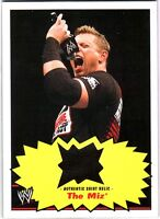 WWE The Miz 2012 Topps Heritage Authentic Event Worn Shirt Relic Card DWC