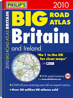(Good)-Philip's Big Road Atlas Britain and Ireland 2010: Spiral A3 (Road Atlases