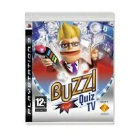 Buzz! Quiz TV (PS3) (buzzers not included), Video Games