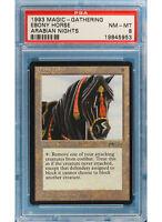 Magic MTG Arabian Nights Ebony Horse (PSA-8)