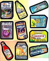 WACKY PACKAGES ALL NEW SERIES 4 FOIL SET (10)