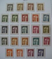 ALLEMAGNE BERLIN: COLLECTION TIMBRES NEUFS 1958-1981 !