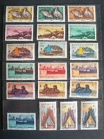 NOUVELLE CALEDONIE COLLECTION TIMBRES 1883-1981 A VOIR