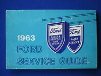 1963 Ford Service Guide
