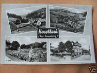 alte Ansichtskarte Haselbach Kr. Sonneberg Steinach
