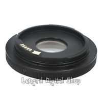 lens adapter AF confirm Canon FD to EOS EF camera 450D