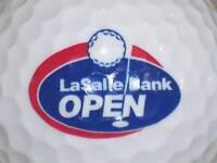 (1) LASALLE BANK CHICAGO OPEN LOGO GOLF BALL BALLS