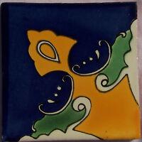 9 Ceramic Handmade Mexican Talavera Tile Folk Art C218