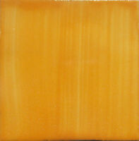 """90 Handpainted  Mexican Ceramic Tile 4"""" BRUSHED YELLOW COLOR S015"""
