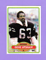 1980 Topps Gene Upshaw #449 Raiders NMMT+/MINT FREE & FAST SHIPPING