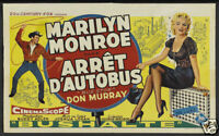 Bus stop Marilyn Monroe #1 movie poster