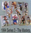 1994 MASTERS R/L CARD #71 DAMIEN CHAPMAN - ST GEORGE