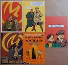 Lot Cartes Postales JACOBS BLAKE et MORTIMER (104)