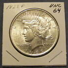 1922 Peace Dollar 90% Silver - Very Nice # 262981-03 Circulated - See photo