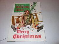DEC 1954  MOTOR AGE car magazine