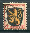ALLEMAGNE Occupation Fr., timbre 6 Armoiries oblitéré