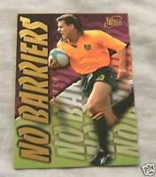 1996 AUSTRALIAN RUGBY UNION CARD NB1 - JASON LITTLE