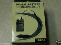 18650 BATTERY WALL CHARGER AUTO CAR ADAPTER 110~240v
