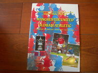 1994 FA CUP SEMI REPLAY MANCHESTER UNITED V OLDHAM