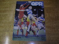 1980/81 DIVISION TWO - QUEENS PARK RANGERS v CHELSEA