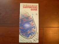 1998 WORLD CUP OFFICIAL F.A SUPPORTERS GUIDE