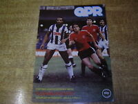 1982/83 DIVISION TWO - QUEENS PARK RANGERS v OLDHAM ATHLETIC