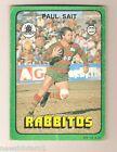 1978 RUGBY LEAGUE CARD #89 PAUL SAIT, SOUTH SYDNEY RABBITOHS