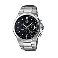 Casio Edifice Gents Chronograph Black Dial Stainless Steel Watch EFR-500D-1AVDR