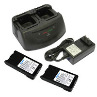 Charger + Battery for KENWOOD KNB-25A KNB-26N KNB25 KNB26