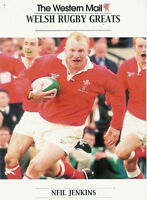 """Neil Jenkins, Wales WESTERN MAIL """"Welsh Rugby Greats Collection"""" Rugby Card"""