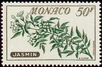 "MONACO N° 520 ""FLEURS, JASMIN 50 F"" NEUF xx TTB"