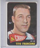 1965 Topps Tito Francona #256 VG-EX Condition