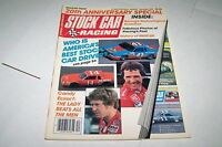 DEC 1985 STOCK CAR RACING vintage car magazine JACK JOHNSON