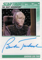 Complete Star Trek TNG Series 2 Autograph Card Barbara Tarbuck as Leka Trion