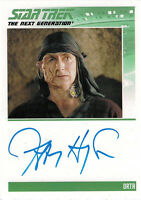 Complete Star Trek TNG Series 2 Autograph Card Jeffrey Hayenga as Orta