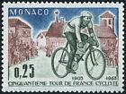 "MONACO N° 633 ""TOUR DE FRANCE CYCLISTE 25 C"" NEUF xx TTB"