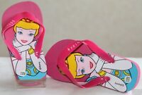Tongs Sandales Fille Princesse Disney Belle au bois dormant Aurore ou Cendrillon