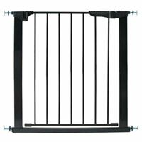 Kidco G1101 Gateway Pressure Mount Auto Close Safety Gate In Black New!!