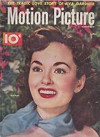 MAY 1951  MOTION PICTURE vintage movie magazine ANN BLYTH
