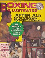 DEC 1975 BOXING ILLUSTRATED boxing magazine MUHAMMED ALI