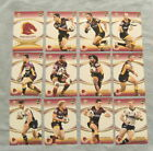 2007 SELECT NRL INVINCIBLE RUGBY LEAGUE CARDS - BRISBANE BRONCOS