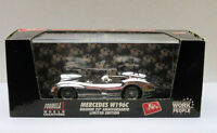 BRUMM 25TH ANNIVERSARY CHROME PLATED MERCEDES W196C LIMITED EDITION BOXED