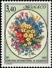 """MONACO N° 1815 """"BOUQUETS, BOUQUETS DE FLEURS DIVERSES"""" xxTTB"""