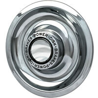 1pc CHROME CHEVY GM Rally Wheel Center Hub Caps Disc Brake Rim Covers Trim Ring